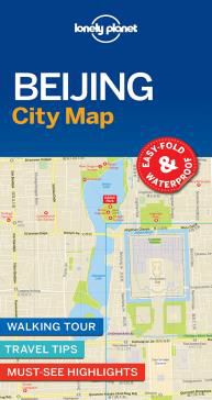 BEIJING. CITY MAP -LONELY PLANET