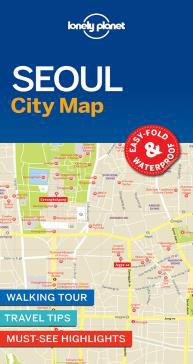 SEOUL. CITY MAP -LONELY PLANET