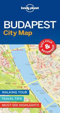 BUDAPEST. CITY MAP -LONELY PLANET