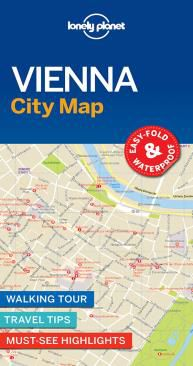 VIENNA. CITY MAP -LONELY PLANET