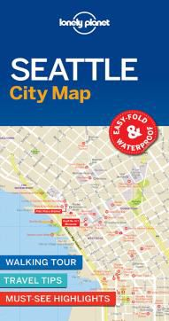 SEATTLE. CITY MAP -LONELY PLANET