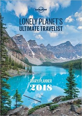 2018 DIARY. ULTIMATE TRAVELIST  -LONELY PLANET