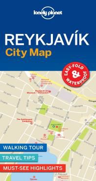 REYKJAVIK. CITY MAP -LONELY PLANET