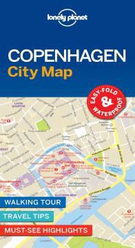 COPENHAGEN. CITY MAP -LONELY PLANET