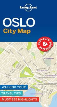 OSLO. CITY MAP -LONELY PLANET