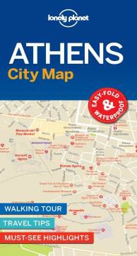 ATHENS. CITY MAP -LONELY PLANET