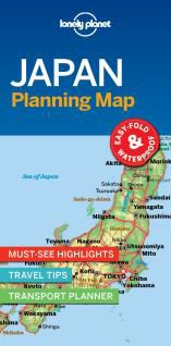 JAPAN. PLANNING MAP -LONELY PLANET