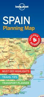 SPAIN. PLANNING MAP -LONELY PLANET