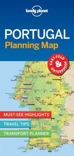 PORTUGAL. PLANNING MAP -LONELY PLANET