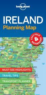 IRELAND. PLANNING MAP -LONELY PLANET