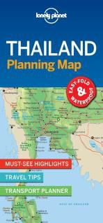 THAILAND. PLANNING MAP -LONELY PLANET