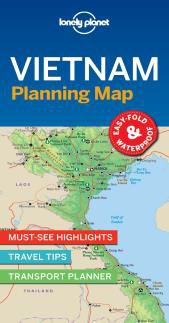 VIETNAM. PLANNING MAP -LONELY PLANET