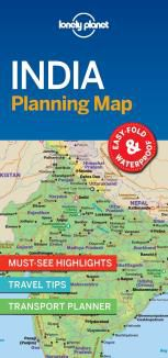 INDIA. PLANNING MAP -LONELY PLANET