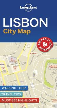 LISBON, CITY MAP -LONELY PLANET