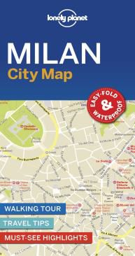 MILAN, CITY MAP -LONELY PLANET