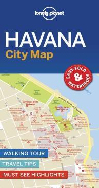 HAVANA. CITY MAP -LONELY PLANET
