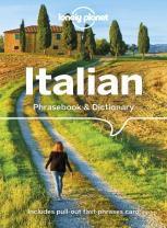 ITALIAN PHRASEBOOK & DICCIONARY -LONELY PLANET