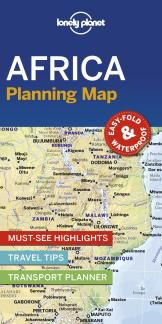 AFRICA. PLANNING MAP -LONELY PLANET