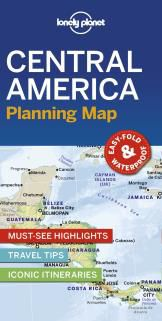 CENTRAL AMERICA. PLANNING MAP -LONELY PLANET