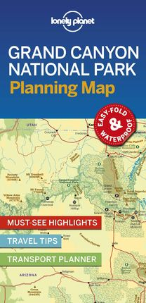 GRAND CANYON NATIONAL PARK. PLANNING MAP -LONELY PLANET