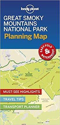 GREAT SMOKY MOUNTAINS. PLANNING MAP -LONELY PLANET