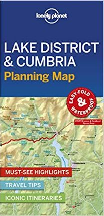 LAKE DISTRICT & CUMBRIA. PLANNING MAP -LONELY PLANET