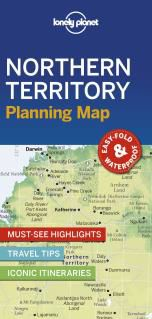 NORTHERN TERRITORY. PLANNING MAP -LONELY PLANET