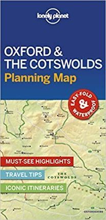 OXFORD & THE COTSWOLDS. PLANNING MAP -LONELY PLANET