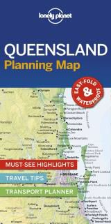 QUEENSLAND. PLANNING MAP -LONELY PLANET