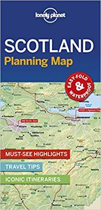 SCOTLAND. PLANNING MAP -LONELY PLANET