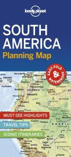 SOUTH AMERICA. PLANNING MAP -LONELY PLANET