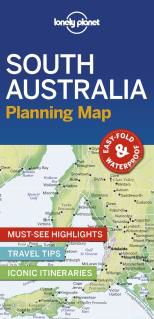 SOUTH AUSTRALIA. PLANNING MAP -LONELY PLANET