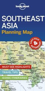 SOUTHEAST ASIA. PLANNING MAP -LONELY PLANET