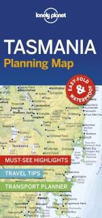 TASMANIA. PLANNING MAP -LONELY PLANET
