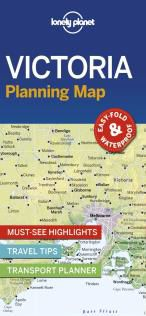 VICTORIA. PLANNING MAP -LONELY PLANET