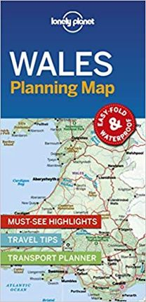 WALES PLANNING MAP -LONELY PLANET