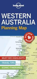 WESTERN AUSTRALIA. PLANNING MAP -LONELY PLANET