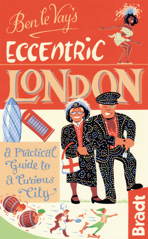 LONDON -ECCENTRIC GUIDES -BRADT