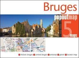 BRUGES -POPOUT MAP