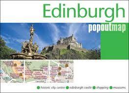 EDINBURGH -POPOUT MAP