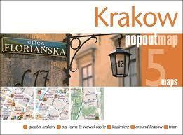 KRAKOW -POPOUT MAP