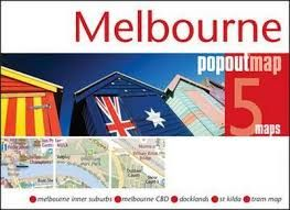 MELBOURNE -POPOUT MAP