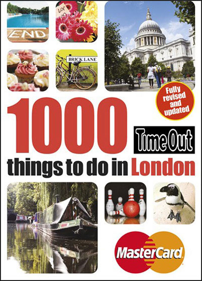 1000 THINGS TO DO IN LONDON -TIME OUT