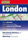 LONDON STREET ATLAS [PETIT]- PHILIP'S