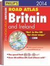 2014 BRITAIN AND IRELAND [ESPIRAL] ROAD ATLAS BRITAIN -PHILIP'S