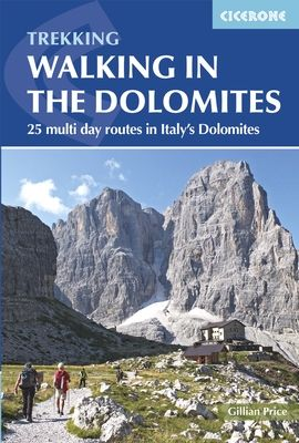 WALKING IN THE DOLOMITES. TREKKING -CICERONE