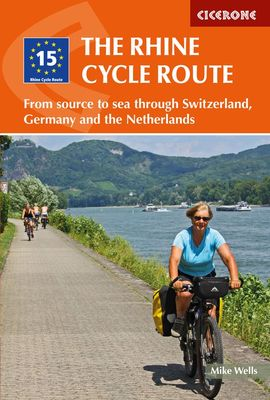 RHINE CYCLE ROUTE, THE -CICERONE