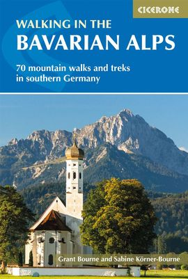 WALKING IN THE BAVARIAN ALPS -CICERONE