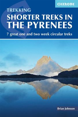 SHORTER TREKS IN THE PYRENEES -CICERONE
