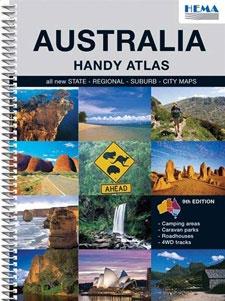AUSTRALIA. HANDY ATLAS [ESPIRAL] -HEMA